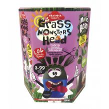 "Набор креативного творчества ""Grass Monsters Head"", Danko Toys, GMH-01-03U"
