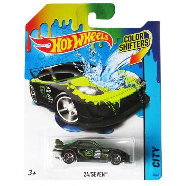 Машинка що змінює колір 24/seven NEW Hot Wheels , BHR15