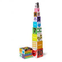 """Набір блоків """"Числа, форми та кольори"""", Melissa&Doug, 9042"""