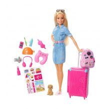 "Кукла Barbie из серии ""Путешествия"", Mattel, FWV25"