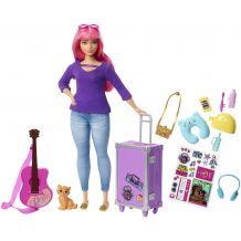 """Лялька Barbie Дейзі пишна из серії """"Подорожі"""", Mattel, FWV26"""