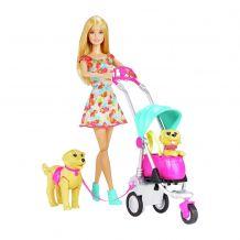 """Ігровий набір Barbie """"Цуценята на прогулянці"""", Mattel, CNB21"""