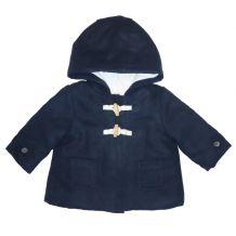 Темно-синее пальто для девочки, Kiabi, VK120