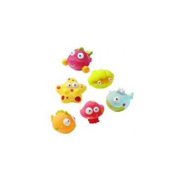 """Игрушки в ванну """"Океан и море"""" 6шт, 532"""