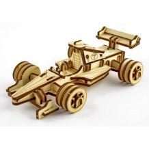 """Дерев'яний 3D-пазл """"Болід"""", Trydeshka, 0003"""