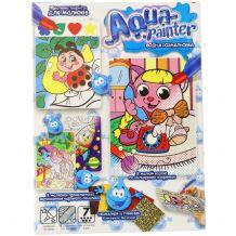"""Набір для творчості """"Aqua painter"""" водна розмальовка, Danko Toys, AQP-01-02U"""