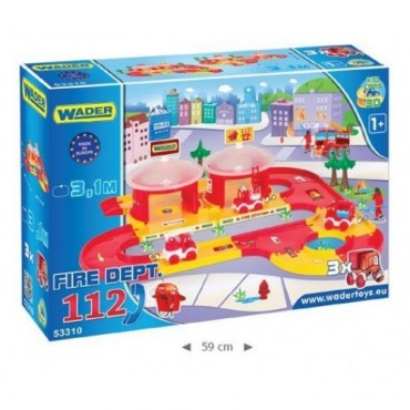 Пожарная станция 3,1м Kid Cars 3D Вадер, 53310