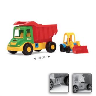 Multi Truck вантажівка з трактором 32210