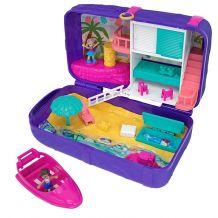 """Ігровий набір Polly Pocket """"Відпочинок на пляжі"""", Mattel, FRY39/FRY40"""