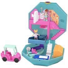 """Ігровий набір Polly Pocket """"Спа-салон"""", Mattel, FRY35/GDK81"""