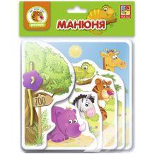 """Гра настільна """"Манюня Зоопарк"""", Vladi Toys, VT2222-05"""