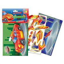 """Гра з наклейками """"Тюнінг"""", Vladi Toys, VT4206-16"""