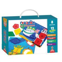 """Гра з фурнітурою """"Ґудзики"""" для найменших, Vladi Toys, VT2905-02"""