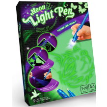 "Набір для творчості Danko Toys ""Neon Light Pen"", NLP-01-01U"
