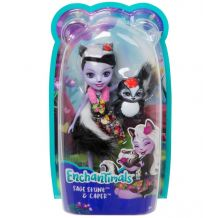 Лялька Enchantimals Седж Скунсі 15см, (оновлена) DVH87/FXM72