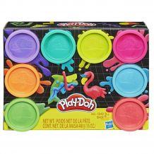 "Игровой набор Play Doh ""Неон"" 8шт, Hasbro, E5044 / Е5063"