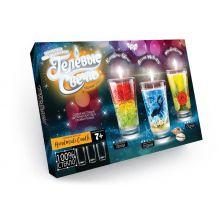 """Комплект креативної творчості Danko Toys """"Гелеві свічки"""", GS-02-01"""