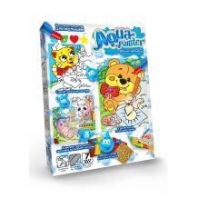"""Набір для творчості """"Aqua painter"""" водна розмальовка, Danko Toys, AQP-01-06U"""