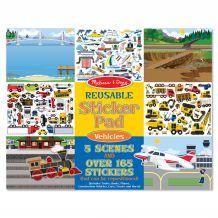 """Набір з багаторазовими наклейками """"Транспорт"""", Melissa&Doug, 14199"""