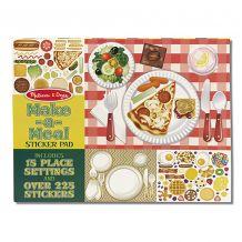 """Набір з багаторазовими наклейками """"Накрий на стіл"""", Melissa&Doug, 14193"""