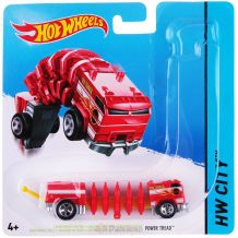 Машинка мутант Power Tread Hot Wheels, BBY78/BBY85