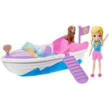 """Ігровий набір Polly Pocket """"Назустріч пригодам! Швидкий човен"""", Mattel, GDM08/GDM09"""