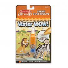 """Чарівна водна розмальовка """"Сафарі"""", Melissa&Doug, 9441"""