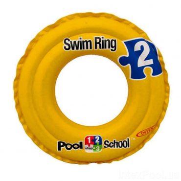 Надувний круг 2-х камерний Swim ring, Intex, 58231