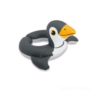 """Надувний круг """"Пінгвін"""" 3-6 років, Intex, 59220"""