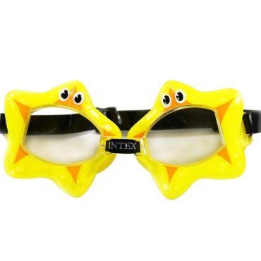 """Детские очки для плавания """"Звездочка"""" 3-8 лет, Intex, 55603"""