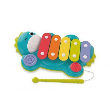 """Музична іграшка """"Динозавр-ксилофон"""", Clementoni, 17263"""