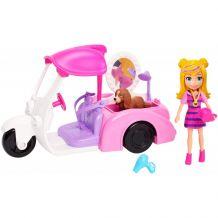 """Ігровий набір Polly Pocket """"Мобільний салон для тварин"""", Mattel, GDM08/GDM10"""