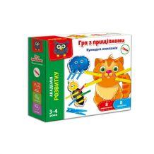 Гра з прищіпками «Кумедна компанія», Vladi Toys, VT5303-14