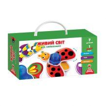 """Гра з гвинтиками """"Живий світ"""" для найменших, Vladi Toys, VT2905-10"""