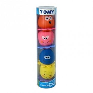 Игрушка для ванной Осьминожка в Тюбе Tomy, E72239