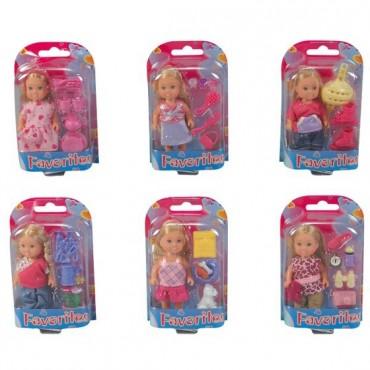Кукла Эви и аксессуары, 12 см, 5734830
