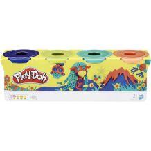 Пластилін Play Doh в 4-х баночках, 448грам, B5517