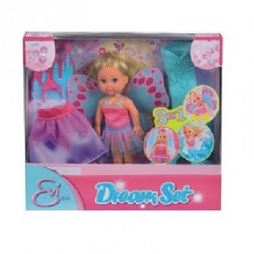 Кукла Эви сказочная 3в1 и аксессуары, 12 см, 5732818