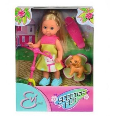 Кукла Эви Веселые развлечения и аксессуары, 12 см, 5732295