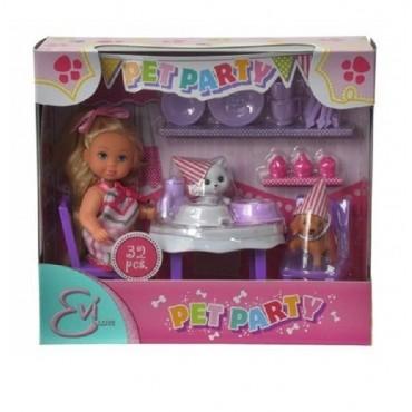 """Лялька Еві """"Вечірка для домашніх улюбленців"""", 5732831"""