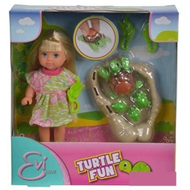"""Кукла Эви """"С семьей черепашек"""", 12 см, 5732505"""