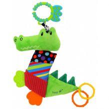 """Подвеска с вибрацией """"Крокодил"""", Baby Mix, TE-8567-33"""