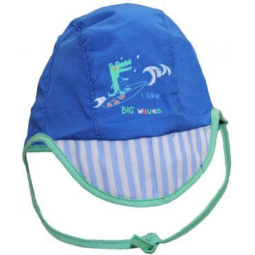 "Синяя панама ""Крокодил"" для мальчика, Yo, CLU-047"