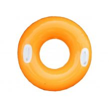 Надувне помаранчеве коло з ручками, Intex, 59258