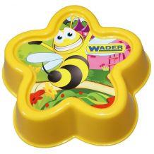 Формочка для песка желтая, Wader, 88400