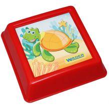 Формочка для песка красная, Wader, 88400