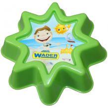 Формочка для песка зеленая, Wader, 88400