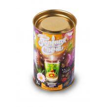 """Набір креативної творчості """"Гелева свічка"""" в тубусі, Danko Toys, GS-01-05"""