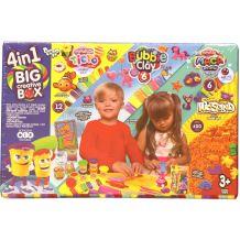 """Набір креативної творчості 4 в 1 """"Big creative Box"""", Danko Toys, BCRB-01-01U"""