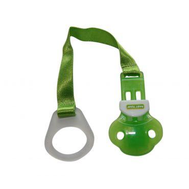 Тримач для пустушки зелений, Baby Team, 3330